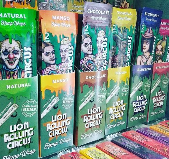 Blunts Lion rolling circus